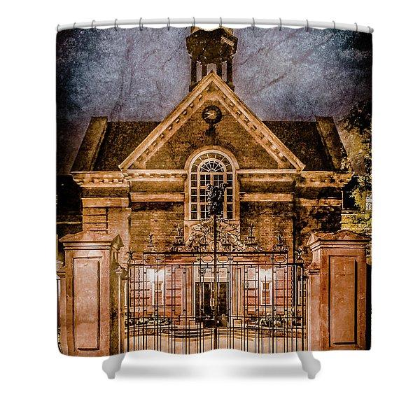 Oxford, England - Saint Hugh's Shower Curtain
