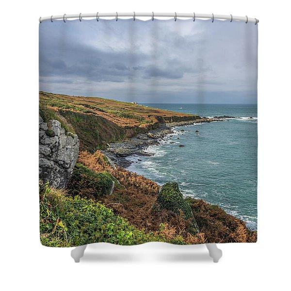 Saint Ives 1 Shower Curtain