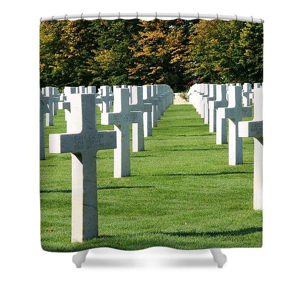Saint Mihiel American Cemetery Shower Curtain