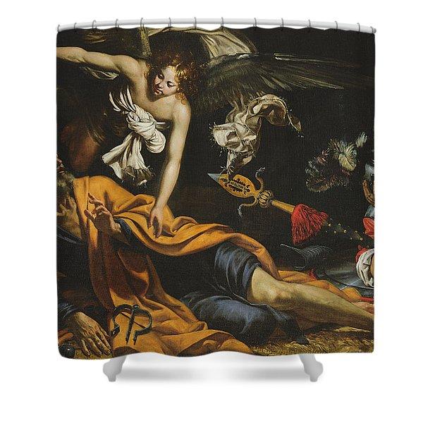 Saint Peter Incarcerated Shower Curtain