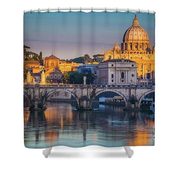 Saint Peters Basilica Shower Curtain