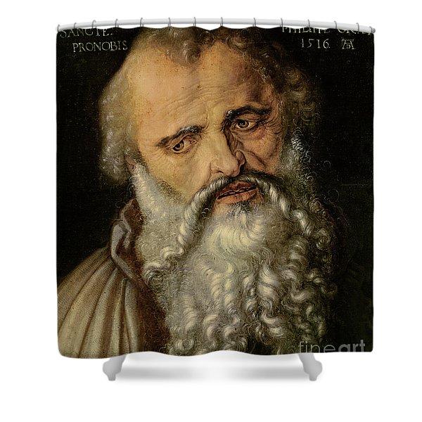 Saint Philip The Apostle Shower Curtain