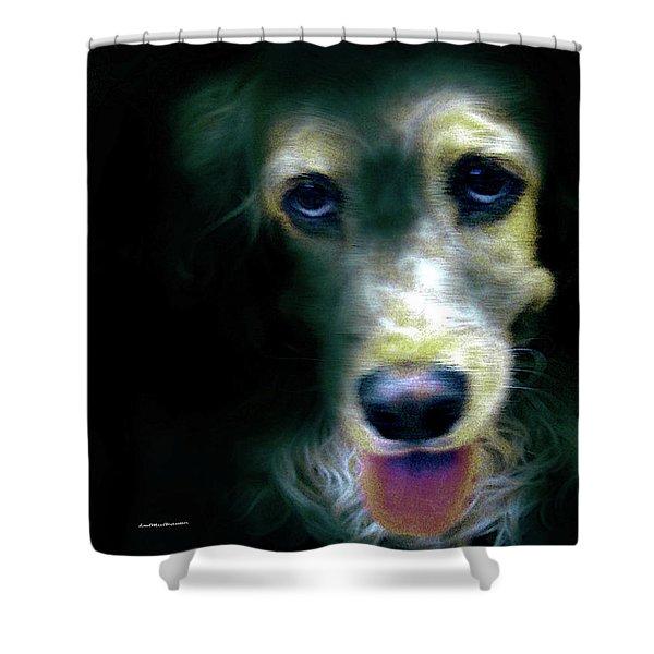 Saint Shaggy Art 14 Shower Curtain