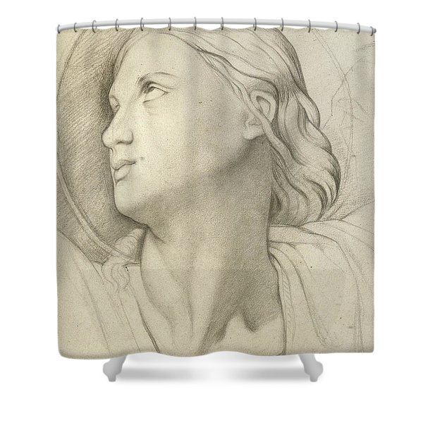 Saint Symphorian After Ingres Shower Curtain