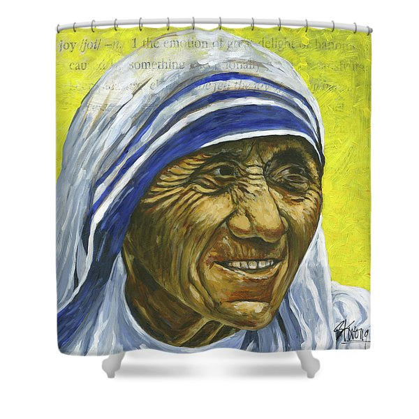 Saint Teresa Shower Curtain