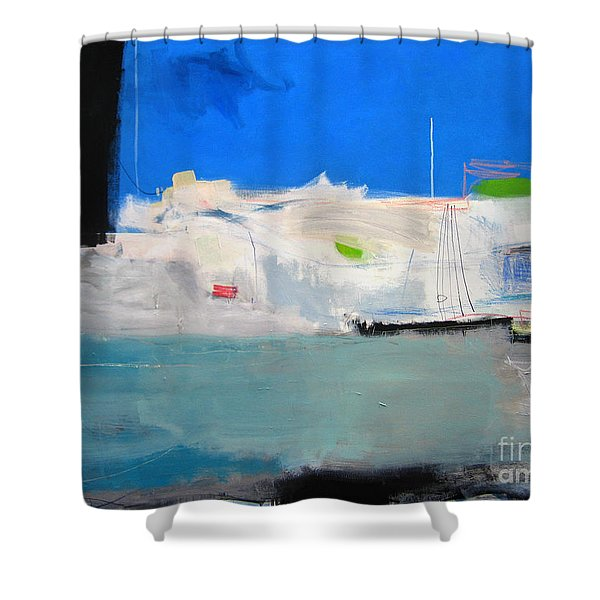 Saint-tropez Shower Curtain