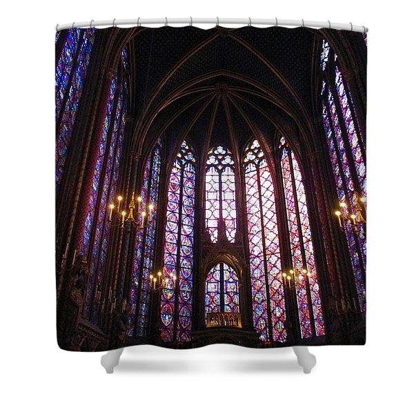 Sainte-chapelle Shower Curtain