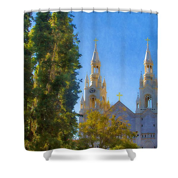 Saints Peter And Paul Church Shower Curtain