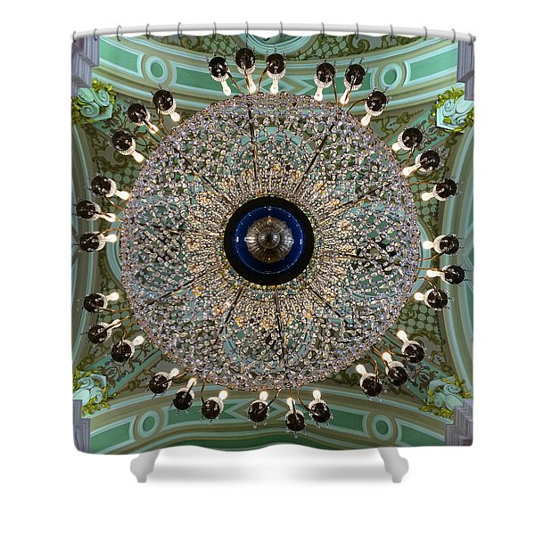 Saints Peter And Paul Fortress Shower Curtain