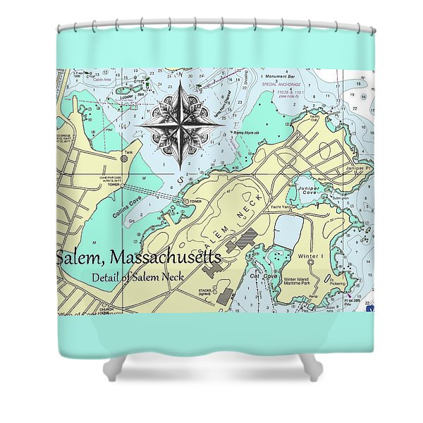 Salem Neck Shower Curtain