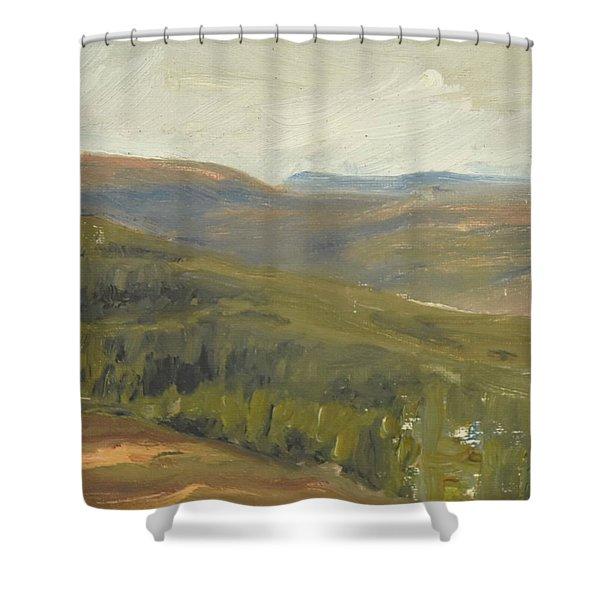 Salen Daylight 90x85 Cm Shower Curtain