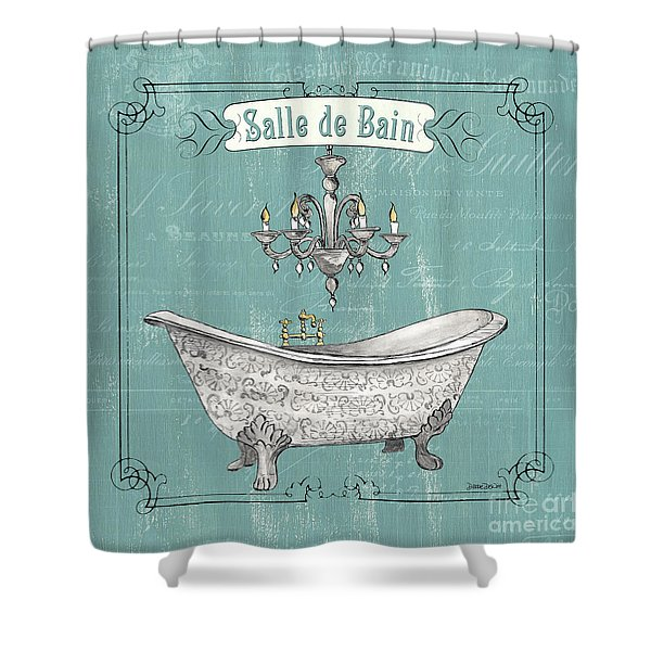 Salle De Bain Shower Curtain