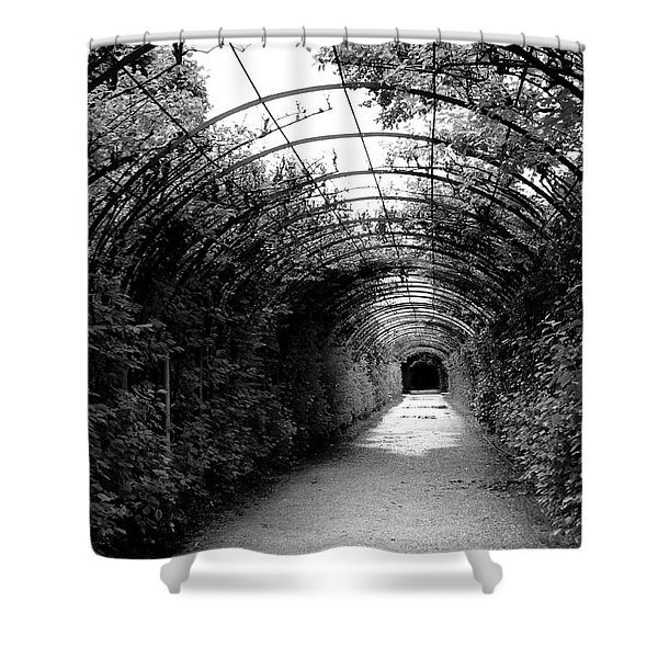 Salzburg Vine Tunnel - By Linda Woods Shower Curtain