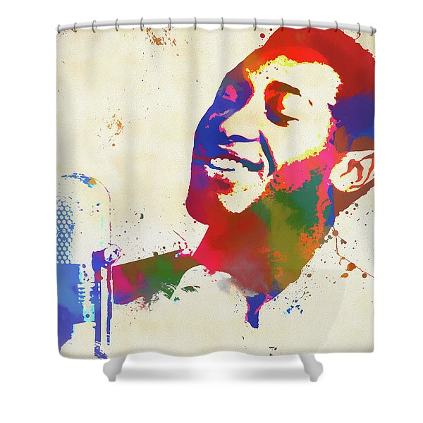 Sam Cooke Shower Curtain