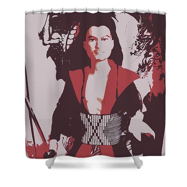 Samarai Ken Shower Curtain