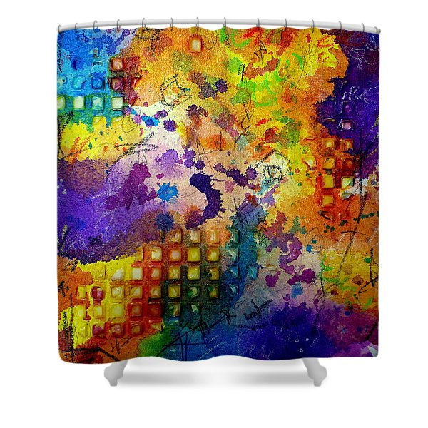Same Old Story Shower Curtain