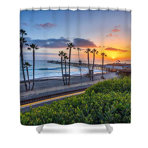 San Clemente Shower Curtain