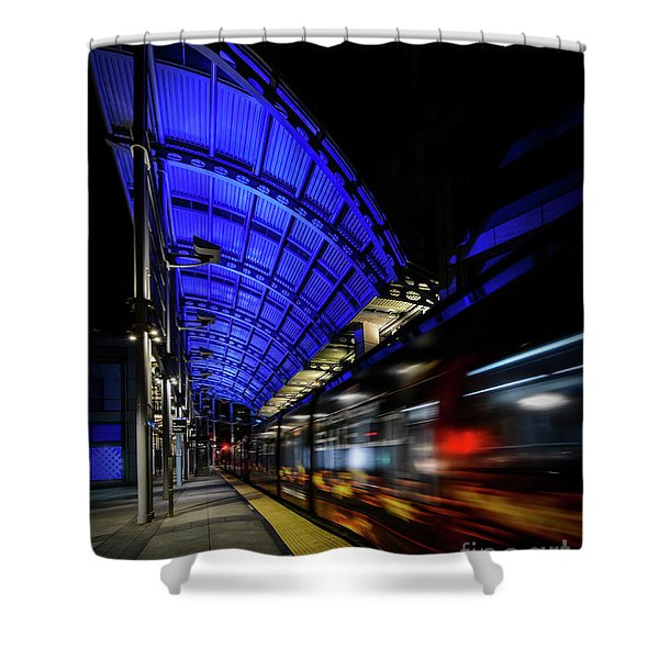 San Diego Trolley Shower Curtain