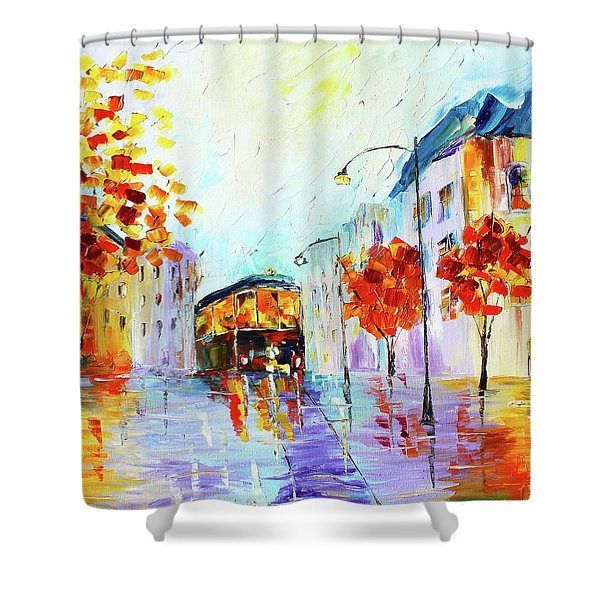 San Fran Shower Curtain
