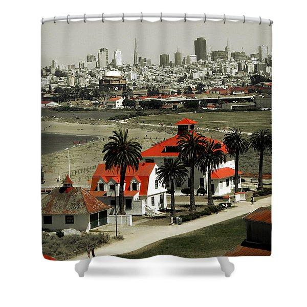 San Francisco Panorama 2015 Shower Curtain