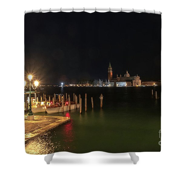 San Giorgio Maggiori At Night Shower Curtain