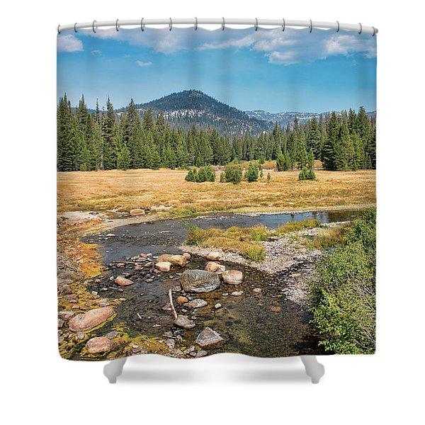 San Joaquin River Scene Shower Curtain