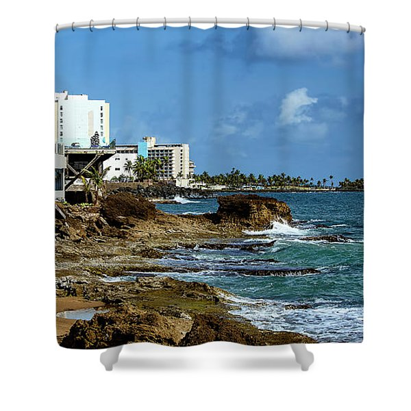 San Juan Bay In Puerto Rico Shower Curtain