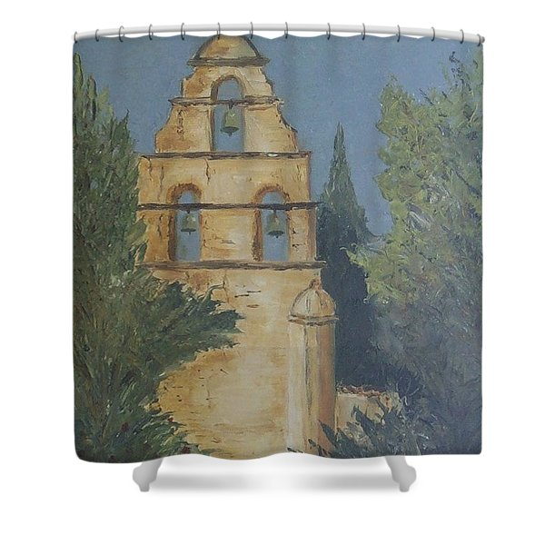 San Juan Mission Shower Curtain