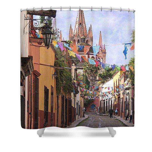 San Miguel Shower Curtain