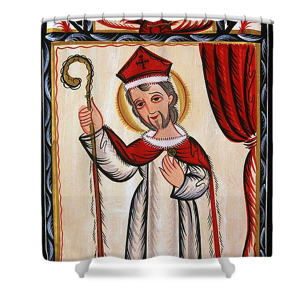 San Nicolas - St. Nicholas - Aosni Shower Curtain