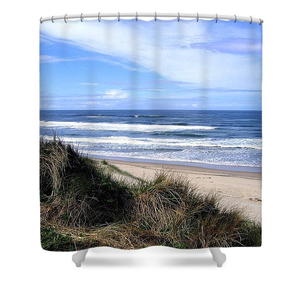 Sand And Sea 12 Shower Curtain