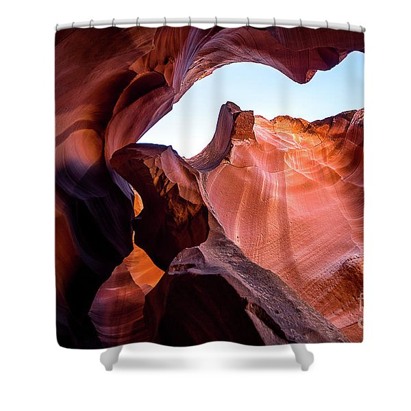 Sand Cathedral Shower Curtain