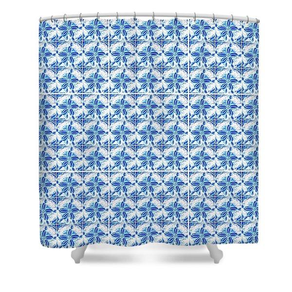 Sand Dollar Delight Pattern 1 Shower Curtain