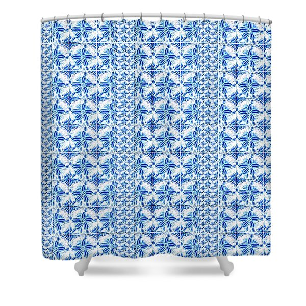 Sand Dollar Delight Pattern 2 Shower Curtain