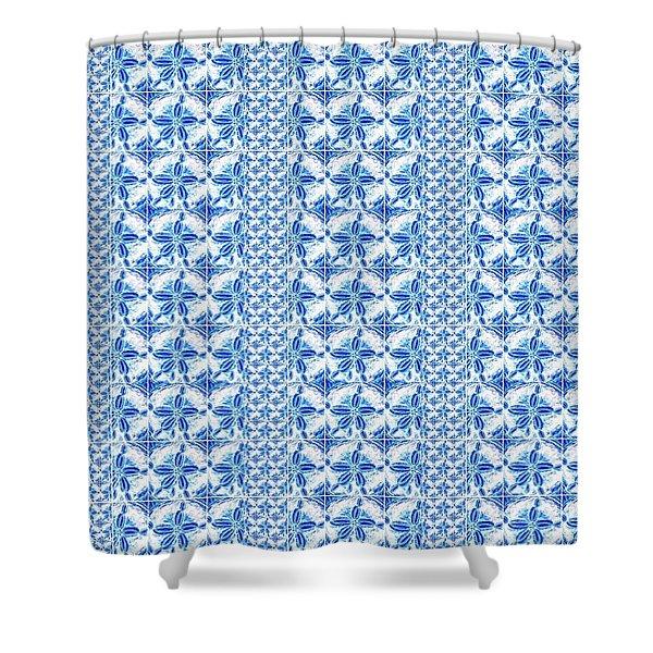 Sand Dollar Delight Pattern 2 Shower Curtain