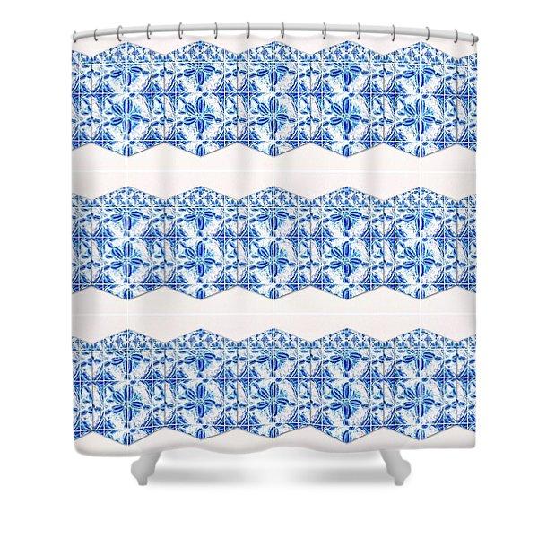 Sand Dollar Delight Pattern 4 Shower Curtain