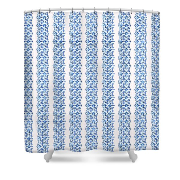 Sand Dollar Delight Pattern 5 Shower Curtain