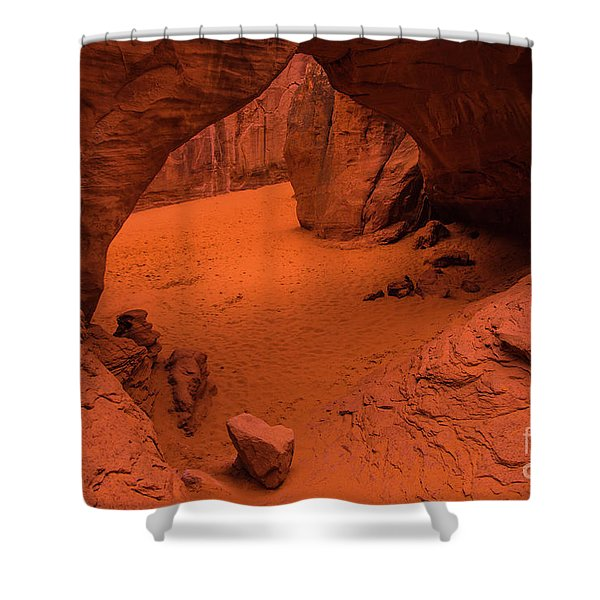Sand Dune Arch - Arches National Park - Utah Shower Curtain