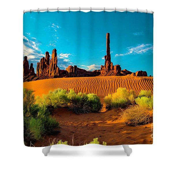 Sand Dune Shower Curtain