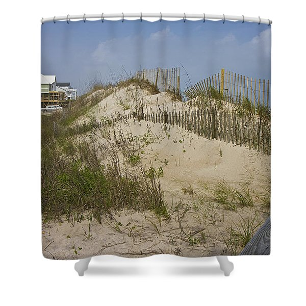 Sand Dunes II Shower Curtain by Betsy C  Knapp