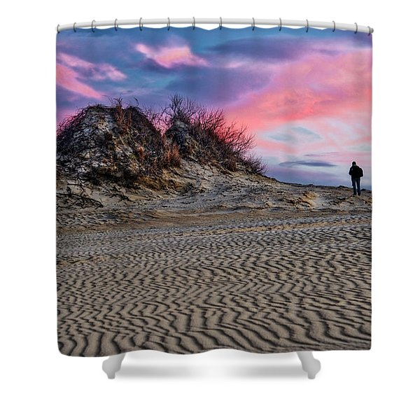 Sand Dunes Of Kitty Hawk Shower Curtain