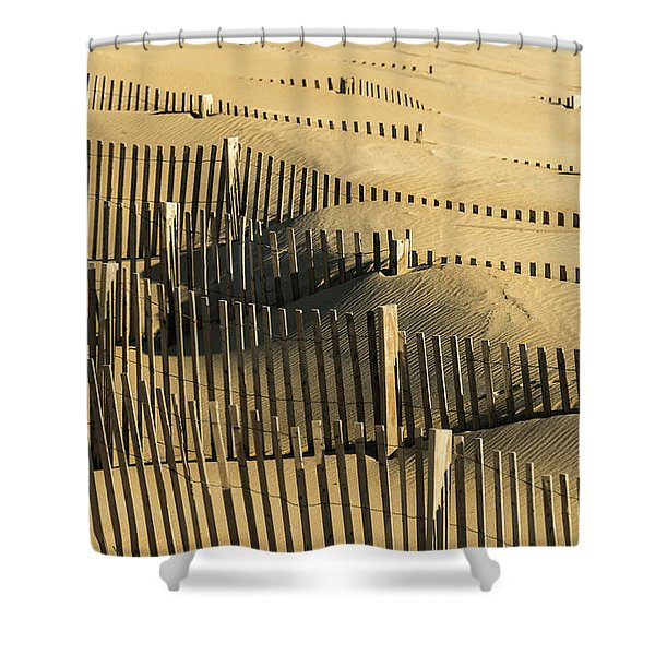Sand Dunes Of The Outer Banks Shower Curtain