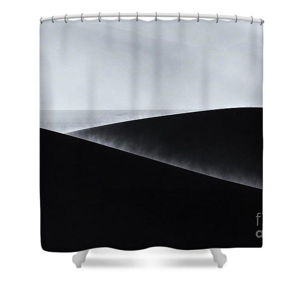 Sand Storm Aurora Shower Curtain