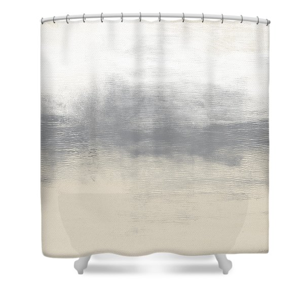 Sand Swept- Abstract Art By Linda Woods Shower Curtain