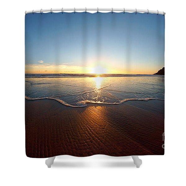 Sand Textures Shower Curtain