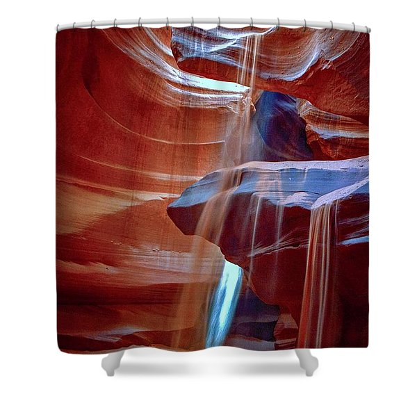 Sandalanche Shower Curtain