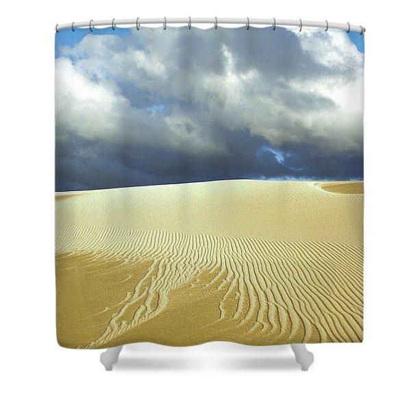 Sandanistas Shower Curtain