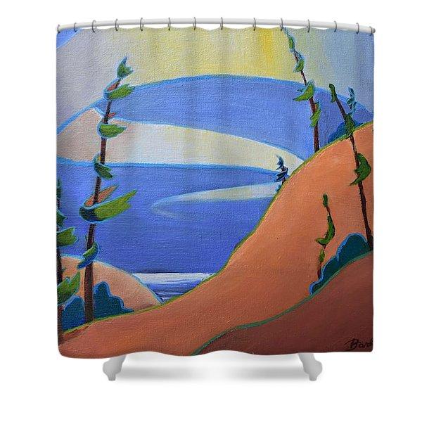 Sandbanks Shower Curtain