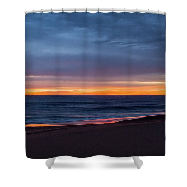Sandbridge Sunrise Shower Curtain