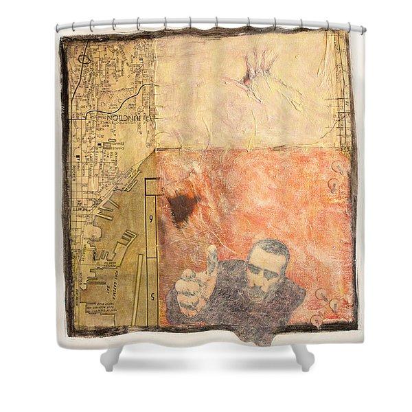 Sandpoint Shower Curtain